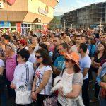 """Nastavljeno okupljanje """"Pravda za Davida"""" na Trgu Krajine (FOTO)"""