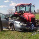 """U sudaru traktora i """"alfe"""" povrijeđene dvije osobe"""