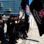Split: Postrojavanje HOS-ovaca na dan osnivanja NDH (VIDEO)