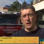 Zbog palenja korova povećan broj intervencija prijedorskih vatrogasaca (VIDEO)