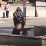 Za ne povjerovati! Žena prala guzu u fontani usred bijela dana (VIDEO)