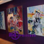 Izložba slika Dobri Stojanovića u prijedorskoj Galeriji 96 (FOTO i VIDEO)