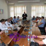 Sastanak kod gradonačelnika Prijedora povodom finalne utakmice Kupa Republike Srpske – Grad fudbalskog festivala (FOTO)