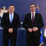 """SASTANAK VUČIĆA I DODIKA: Srbija neće dozvoliti nove """"oluje"""" (FOTO)"""