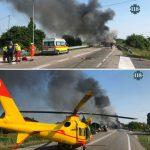 Autobus koji je vozio učenike banjalučke Ekonomske škole zapalio se u Italiji