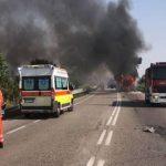 Zapalio se autobus sa banjalučkim maturantima u Italiji (FOTO i VIDEO)