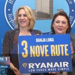 Nova avionska linija Banjaluka - Stokholm, najavljeni letovi za Brisel i Memingen (FOTO i VIDEO)