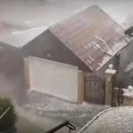 Grad i nevrijeme u Sarajevu! (VIDEO)