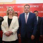Željka Cvijanović kandidat za predsjednika RS, Milorad Dodik u trci za Predsjedništvo BiH