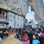Praznik Svetog Vasilija Ostroškog svečano proslavljen u Ostrogu