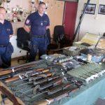 Kod osumnjičenog za ubistvo u Loparama pronađen arsenal oružja