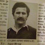 Da li će finale 25. Kupa Republike Srpske Radnik-Krupa početi minutom ćutanja za Zorana Šumana?