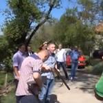 SVADBA NA SRPSKI NAČIN- Svat se upucao iz lovačke puške (VIDEO)