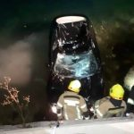 Automobil sletio u more kod Risna, poginula žena