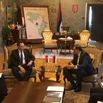 U toku sastanak Dodika i Vulina (FOTO/VIDEO)