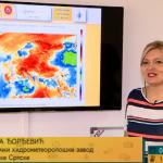 Meteorolog  Milica Đorđević prognozira vrijeme za naredne dane (VIDEO)