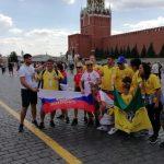 DAJTE BRAZIL DA SE IGRAMOOOOO! Trese se Moskva zbog srpskih navijača! (FOTO i VIDEO)