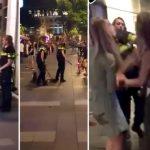 NEVIĐENA BRUTALNOST HOLANDSKE POLICIJE: Najpre je nokautirao devojku pesnicom, zatim je davio pendrekom, pa je patosirao (UZNEMIRUJUĆI VIDEO)
