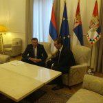 Sastanak Dodika i Vučića u Beogradu (FOTO)