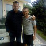 Predstavnici Udruženja navijača iz Prijedora posetili crno-bele - Torta za Partizanovce
