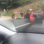 Na ulazu u Jablanicu sudarili se auto i motocikl, jedna djevojka povrijeđena (FOTO)