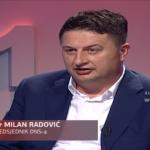 Potpredsjednik DNS-a Milan Radović govorio o mogućnosti da bude naredni premijer RS (VIDEO)