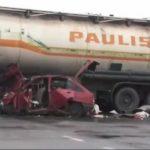 U sudaru sa kamionom, četiri osobe teže povrijeđene
