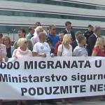 I pored protivljenja Srba - migranti u USK na novoj lokaciji Lipe u B. Petrovcu (VIDEO)