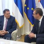 Vučić: Niko ne može da zabrani saradnju Srbije i Srpske