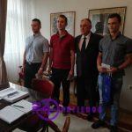 Uspješni studenti na prijemu kod gradonačelnika Prijedora (FOTO i VIDEO)