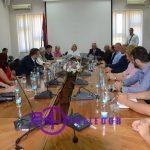 Prijedor: Cvijanovićeva sa predstavnicima vladajuće koalicije