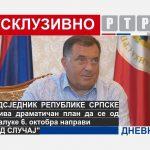 EKSKLUZIVNO ZA RTRS: Dodik otkriva dramatičan plan za 6. oktobar! (VIDEO)