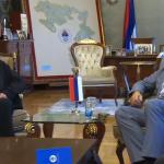Dodik i arhimandrit Metodije: Crkva najznačajniji dio srpskog identiteta (FOTO i VIDEO)