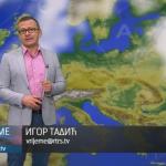 U četvrtak umjereno oblačno, popodne kiša (VIDEO)