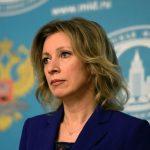 NAPETOST IZMEĐU DVIJE ZEMLJE Zaharova: Rusija priprema osvetničke mjere protiv novih američkih sankcija