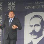"""DODIK NA ZBORU NA MANJAČI """"Putin će u Banjaluku, Kormakova ide u penziju, a ja u Predsjedništvo BiH"""""""