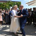 Putin na svadbi ministarke Knajsel u Austriji