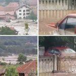 KATAKLIZMA U ŽAGUBICI i VRANJU Za nekoliko sati palo je više kiše nego za ceo mesec, POTOPLJENE KUĆE, MEŠTANI EVAKUISANI (VIDEO)