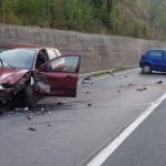 Jedna osoba povrijeđena u sudaru tri vozila