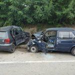 STRAVIČNA NESREĆA KOD PRIJEDORA Tri osobe povrijeđene u sudaru više vozila, intervenisali i vatrogasci (FOTO)