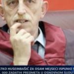 Atko Huseinbašić za osam mjeseci ispunio svega 14 od 1.000 zadatih predmeta (VIDEO)