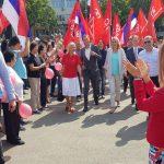 Cvijanovićeva sa aktivistima SNSD-a Bijeljina (FOTO)