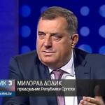 MILORAD DODIK ZA RTS: Integracija srpskog naroda - najznačajniji nacionalni cilj Srpske (VIDEO)