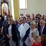 Dodik i Cvijanovićeva na osveštanju crkve u Šargovcu (FOTO/VIDEO)