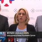 """Dodik i Cvijanović podržali rad Pokreta """"Pozitivne snage Srpske"""""""