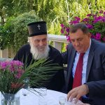 Susret predsjednika Dodika i patrijarha Irineja u Trebinju (FOTO)