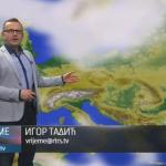 U četvrtak pretežno sunčano i toplije (VIDEO)