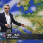 U utorak nestabilno, popodne kiša (VIDEO)