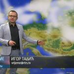 U subotu promjenljivo, svježije i mjestimično sa kišom (VIDEO)