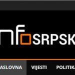 Hakovana Fejsbuk stranica portala Infosrpska
